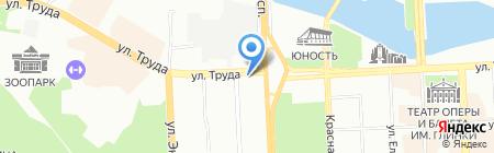 Цветочки на карте Челябинска