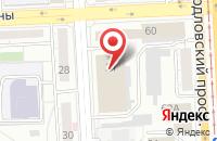 Схема проезда до компании Урал-Гидравлика в Челябинске