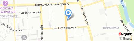 ЭЛБИ на карте Челябинска