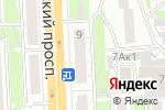 Схема проезда до компании Адажио в Челябинске