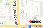 Схема проезда до компании Норд в Челябинске