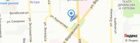 Центр защиты автомобиля на карте Челябинска