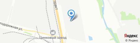 БиПрок-Южный Урал на карте Челябинска
