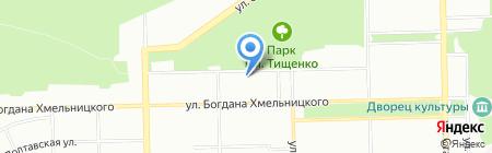 Детский санаторий №2 на карте Челябинска