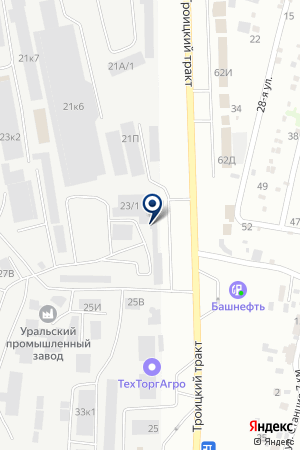 СКЛАД АЛКОМ на карте Челябинска