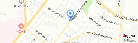 СФК-Монтаж на карте Челябинска