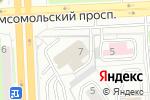 Схема проезда до компании Союз садоводов России в Челябинске