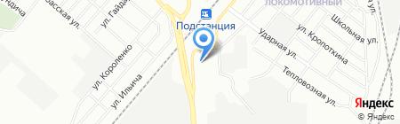 Детский сад №89 на карте Челябинска