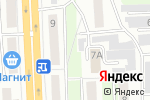 Схема проезда до компании Арсенал-Аналитик в Челябинске