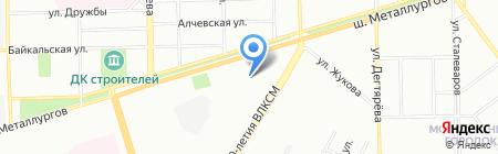 Детский сад №244 на карте Челябинска