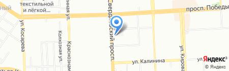 Телемастерская на карте Челябинска