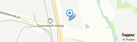 Двери плюс на карте Челябинска