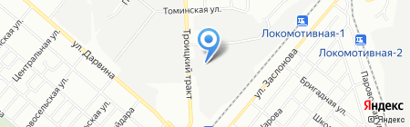 Энергоресурс-Чел на карте Челябинска