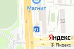 Схема проезда до компании Цветкоff в Челябинске
