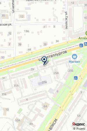 ПРОДУКТОВЫЙ МАГАЗИН ГЕРМЕС на карте Челябинска