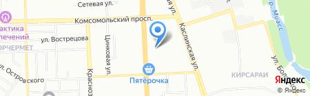 Моя Планета на карте Челябинска