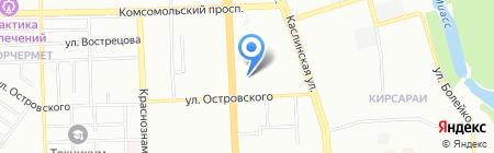Амиго на карте Челябинска