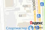 Схема проезда до компании Виктори в Челябинске