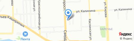 Печатный двор на карте Челябинска