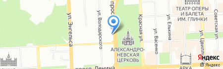 Вистарт на карте Челябинска