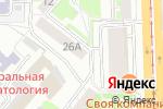 Схема проезда до компании Мой шар в Челябинске
