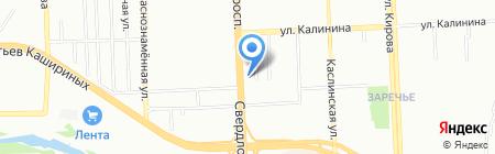 ЛоКоС на карте Челябинска