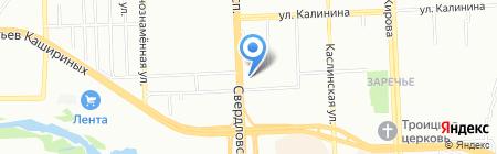 ПрофЭкономТендер на карте Челябинска