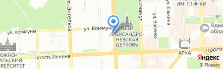 Beauty Studio NEW YORK на карте Челябинска