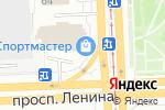 Схема проезда до компании Деньга в Челябинске