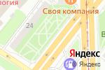 Схема проезда до компании Ваш стиль в Челябинске