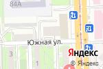 Схема проезда до компании Регионнефтепродукт в Челябинске
