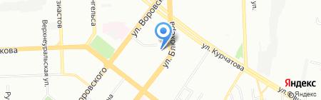 Начальная школа-детский сад №67 на карте Челябинска