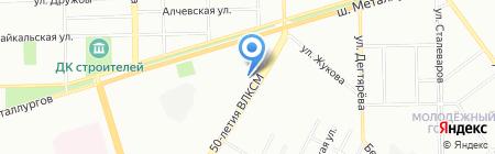ЭКО-ДОМ* на карте Челябинска