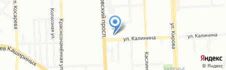 Детская библиотека №6 им. А.П. Гайдара на карте Челябинска