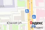 Схема проезда до компании Наше место в Челябинске