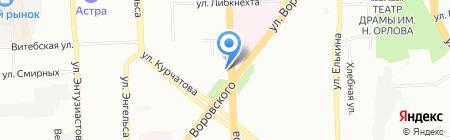 Банкомат Уральский банк Сбербанка России на карте Челябинска