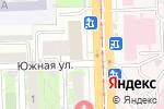 Схема проезда до компании Наш новый дом в Челябинске