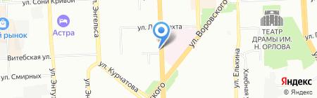 Макси-Тур на карте Челябинска