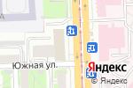 Схема проезда до компании Риэлт-Ком в Челябинске