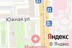 Схема проезда до компании Лотос в Челябинске