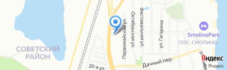 БОВИД на карте Челябинска