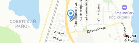Дизель на карте Челябинска