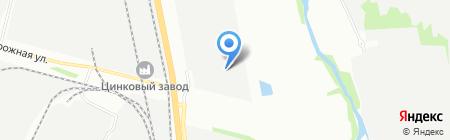 Эgo на карте Челябинска