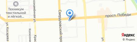 Родник здоровья на карте Челябинска