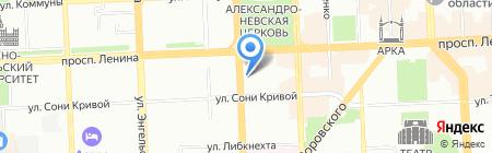 ЗОНД на карте Челябинска
