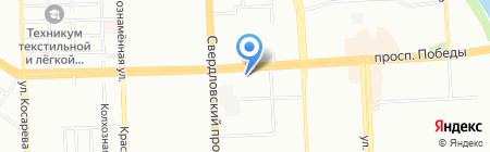 Эскалат на карте Челябинска