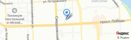 Работа в Челябинске на карте Челябинска