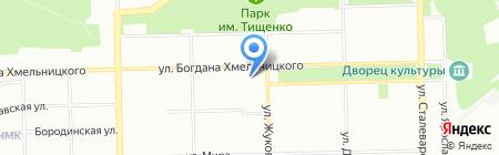 Молния Экспресс на карте Челябинска