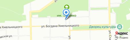 CD City на карте Челябинска