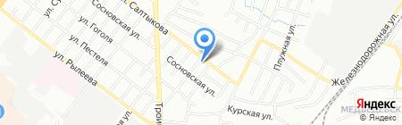 Интермо на карте Челябинска